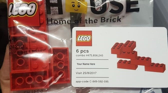 Lego House - Lego Six Bricks